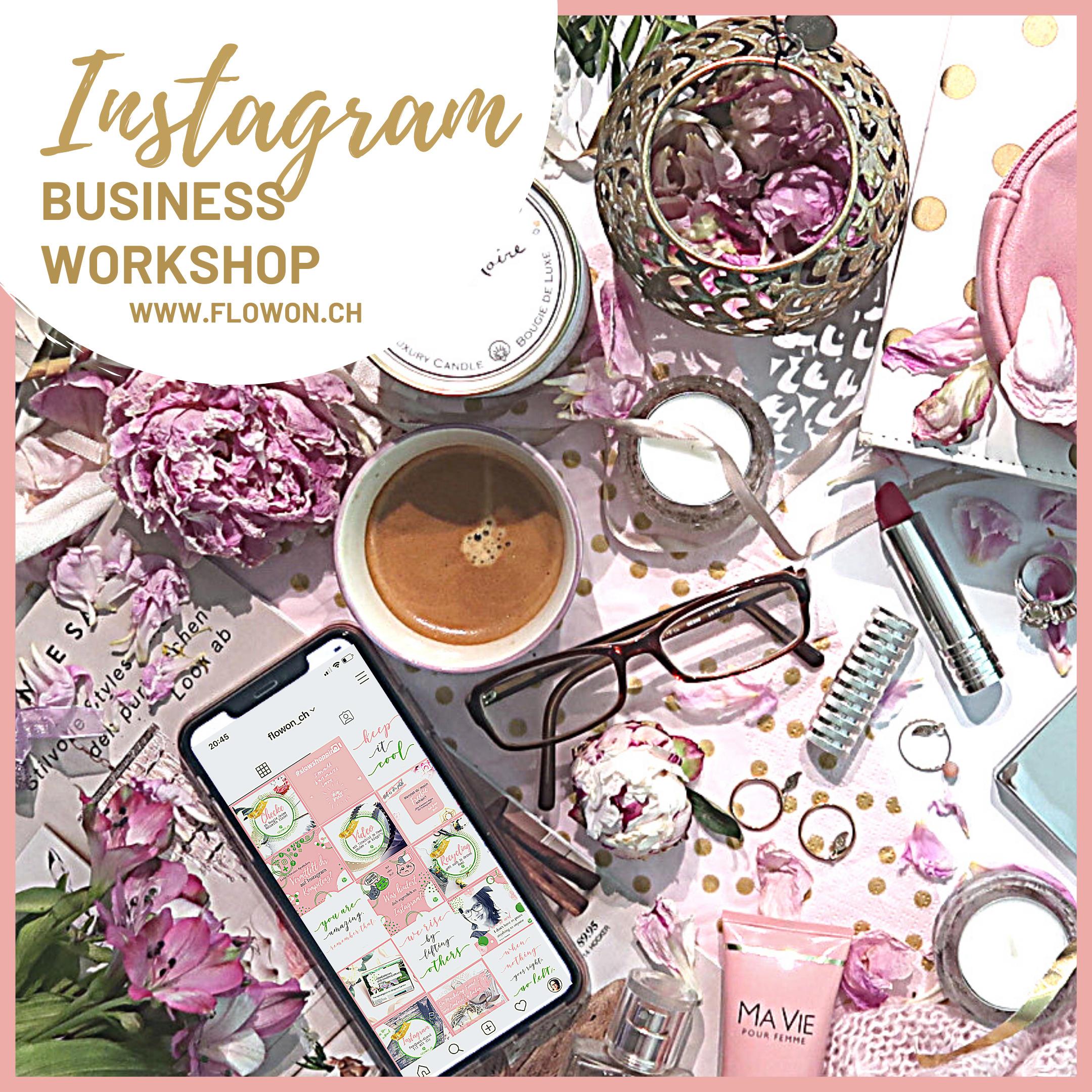 Instagram Workshop und Kurse für Dein Business in Hinwil bei Zürich mit Nicole Hossmann